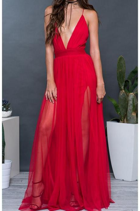Red Prom Dresses, Sexy V-Neck Prom Dress, Long Prom Dresses, Sexy Backless Black Prom Dresses, Sexy Evening Dresses, Pageant Dresses, Wedding Party Dresses
